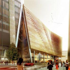 Ping An Finance Center - Concept Design/Exterior/Street View