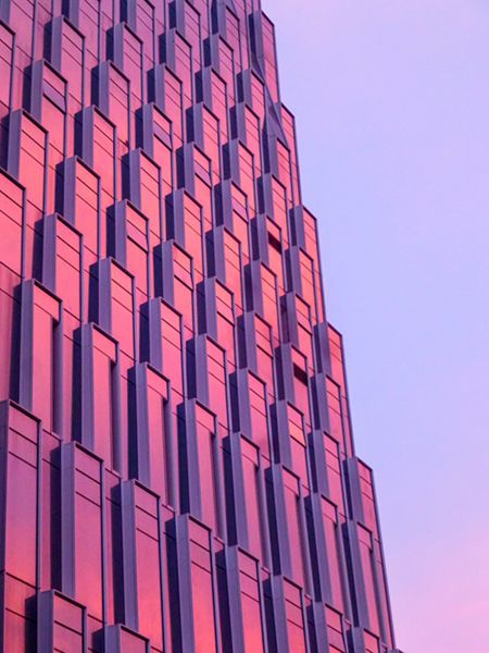 Tencent Seafront Towers Exterior Details Modlar Com