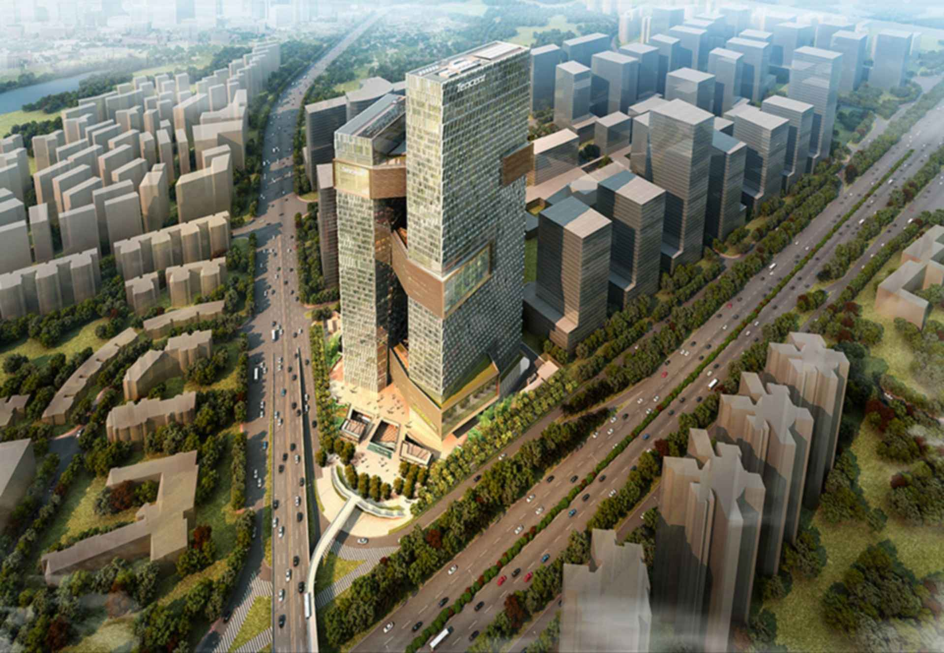 Tencent Seafront Towers - Concept Design/Exterior