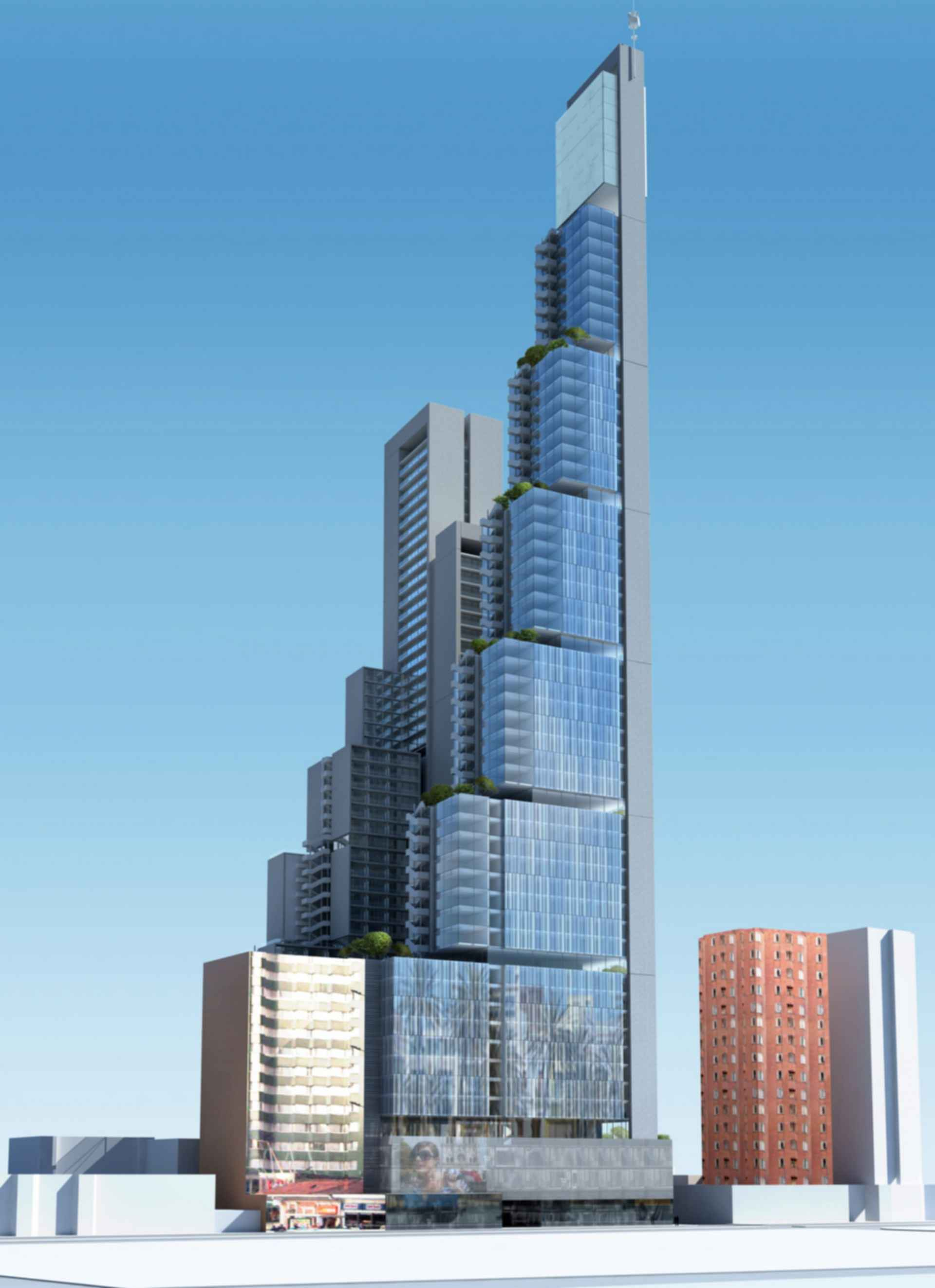 BD Bacata Tower - Concept Design