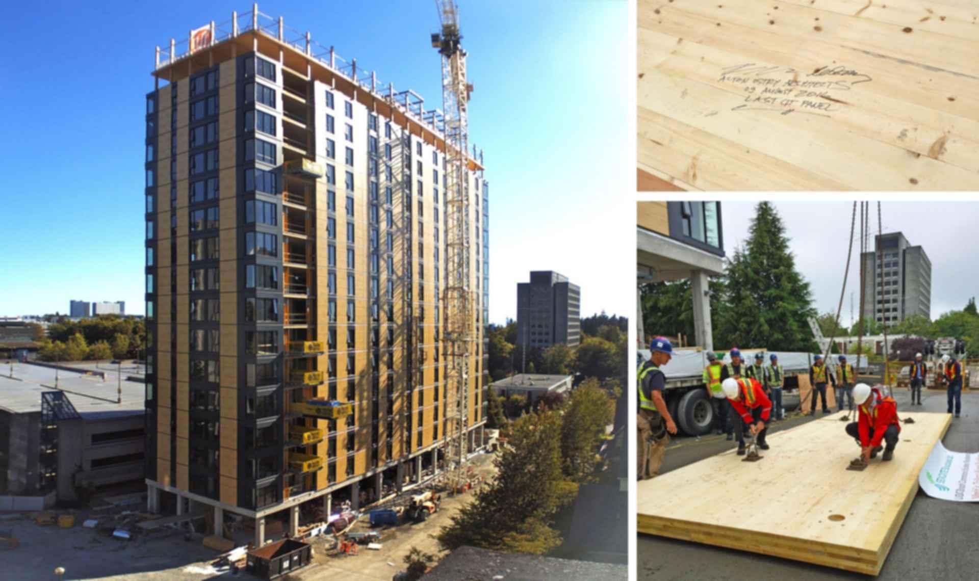 TallWood House - Construction