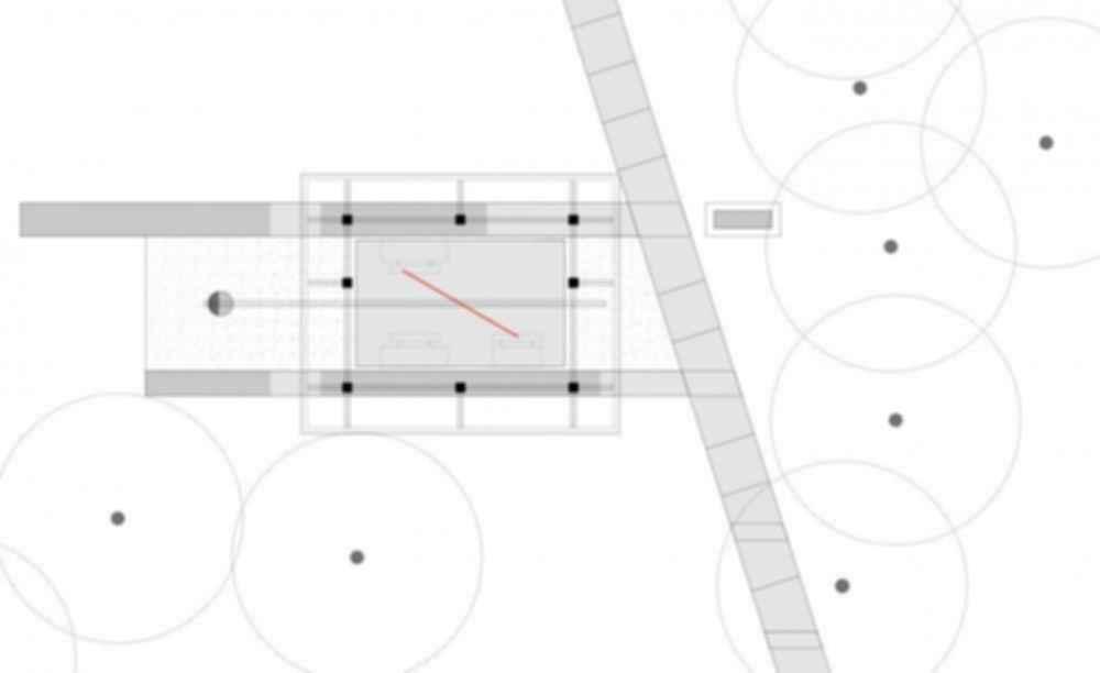 The Cotillion Park Pavilion - Site plan