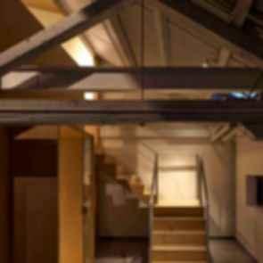 Arrow Factory: Hutong Media & Culture Creative Space - interior/roof