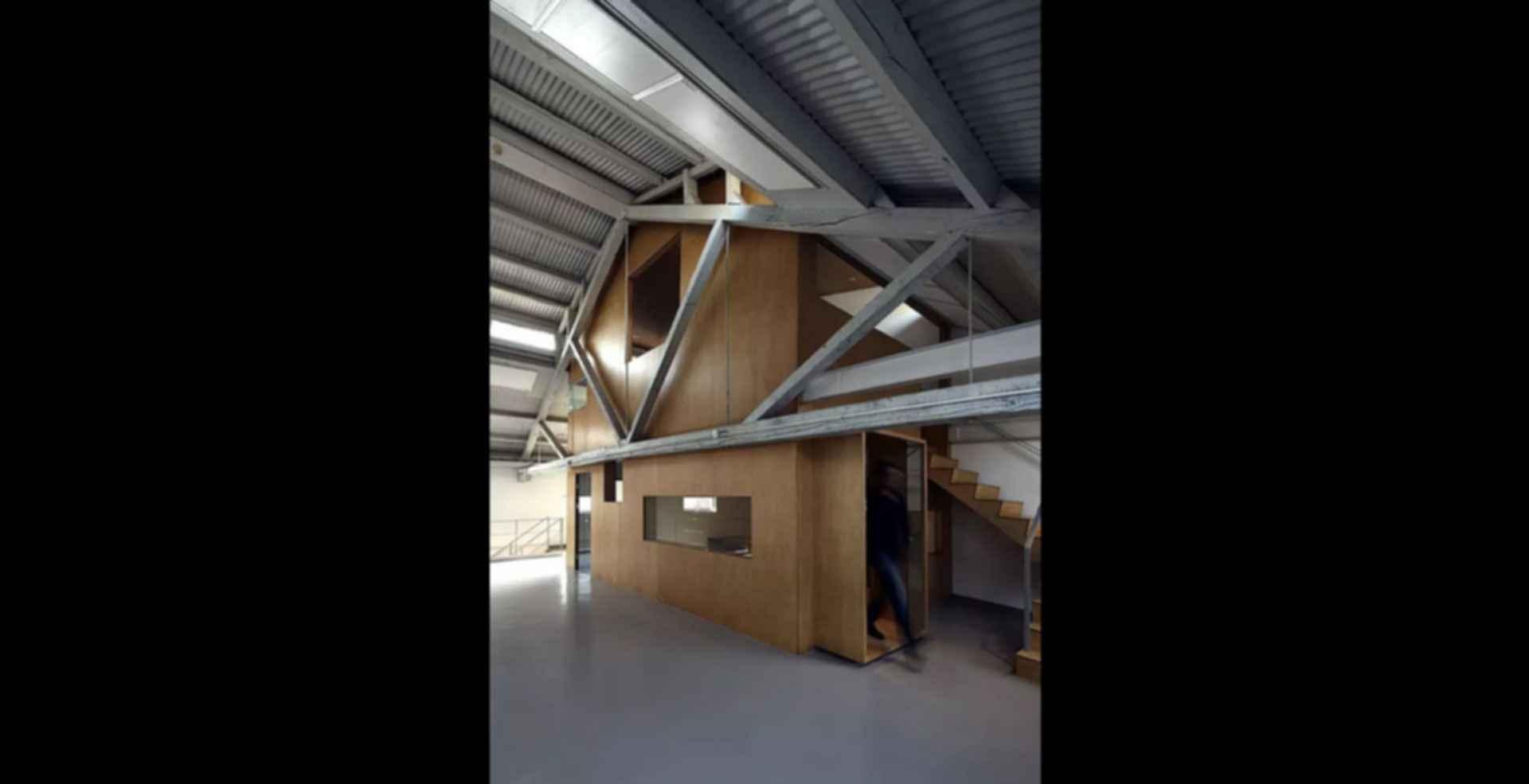 Arrow Factory: Hutong Media & Culture Creative Space - interior