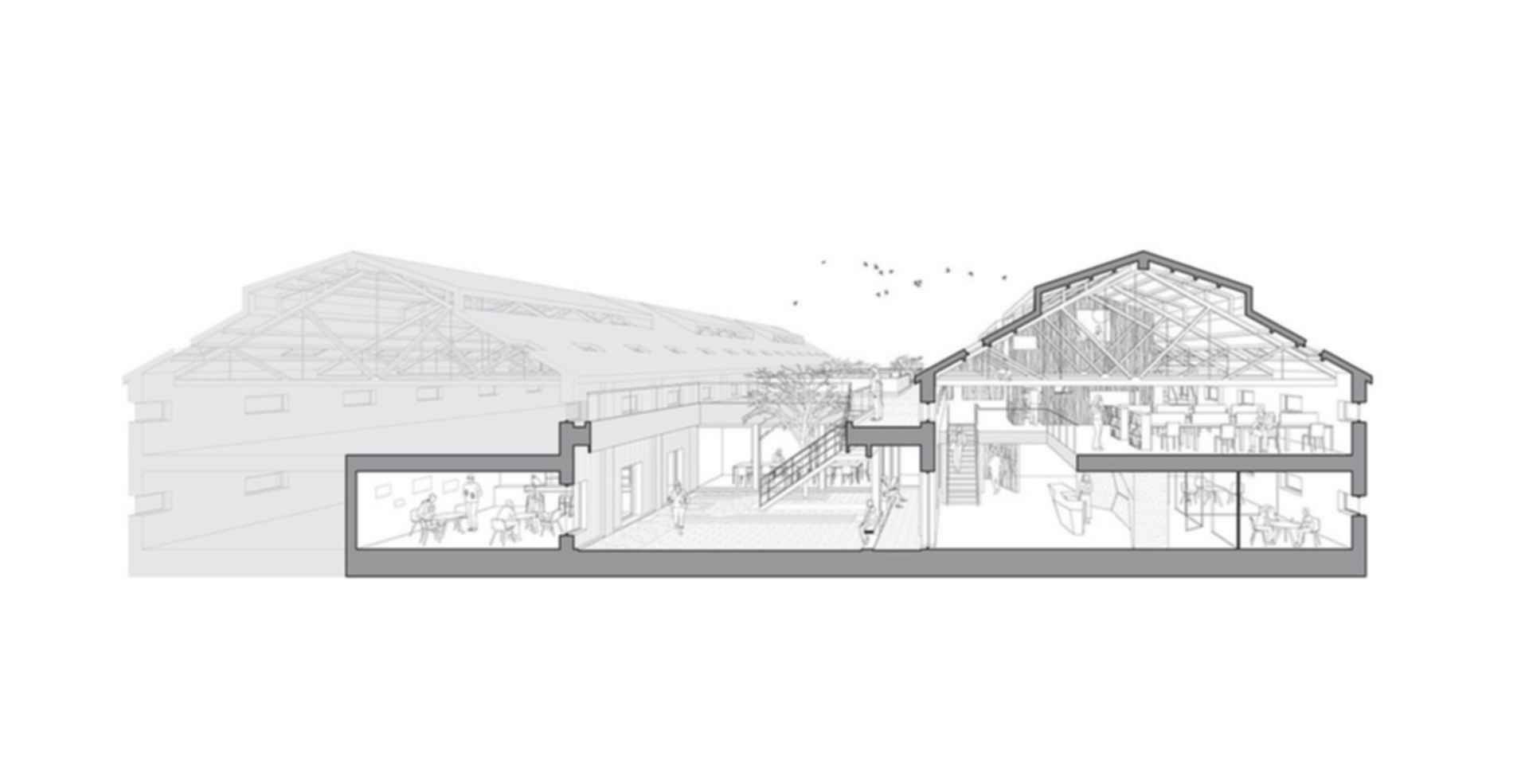 Arrow Factory: Hutong Media & Culture Creative Space - concept design