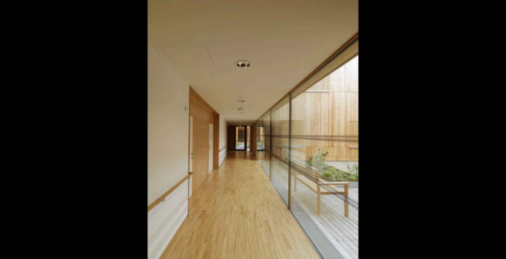 Residential Care Home Andritz - interior/hallway