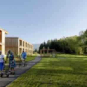 Residential Care Home Andritz - exterior/walkway