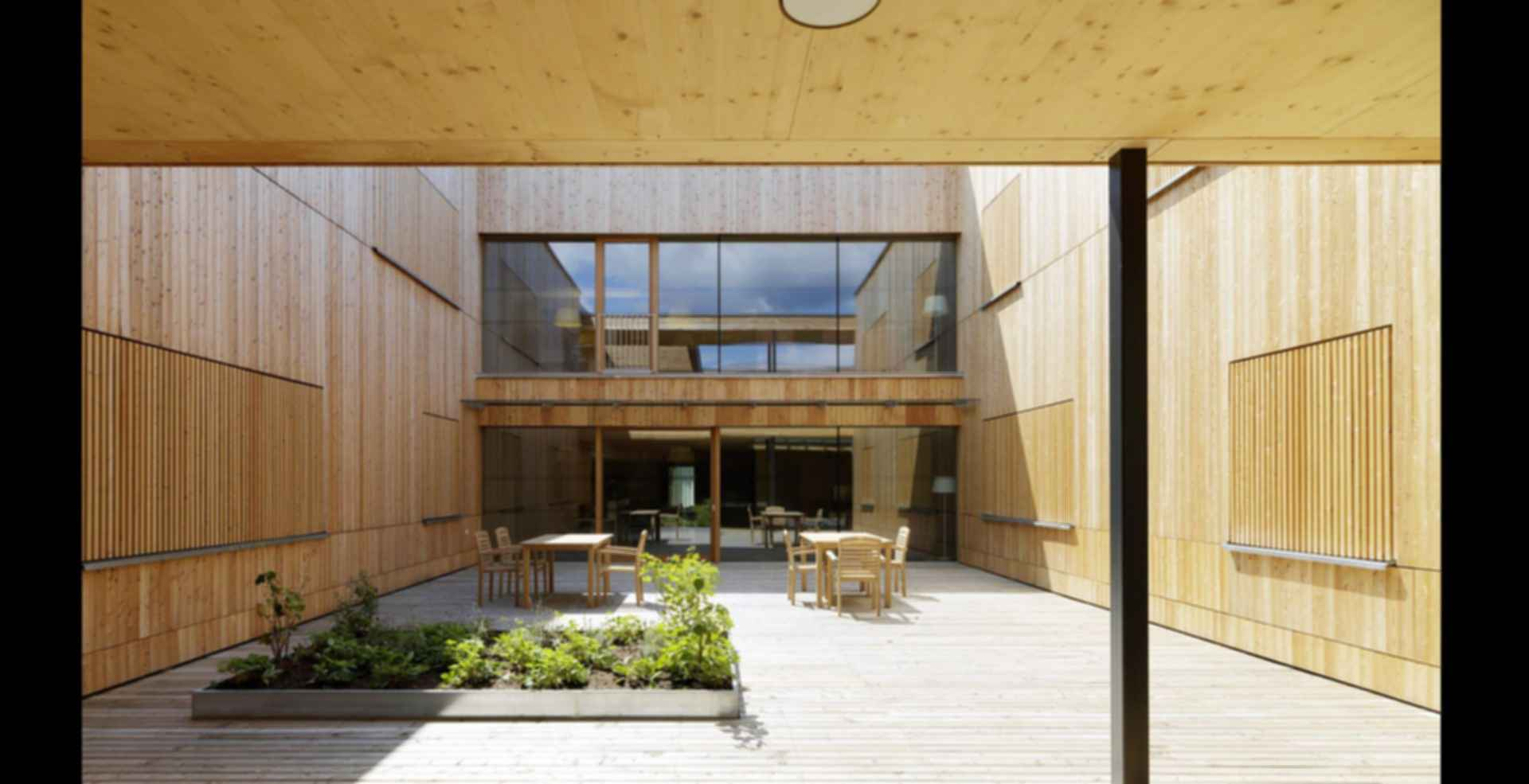 Residential Care Home Andritz - patio