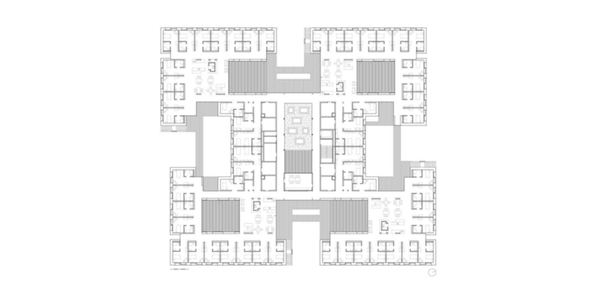 Residential Care Home Andritz - floor plan