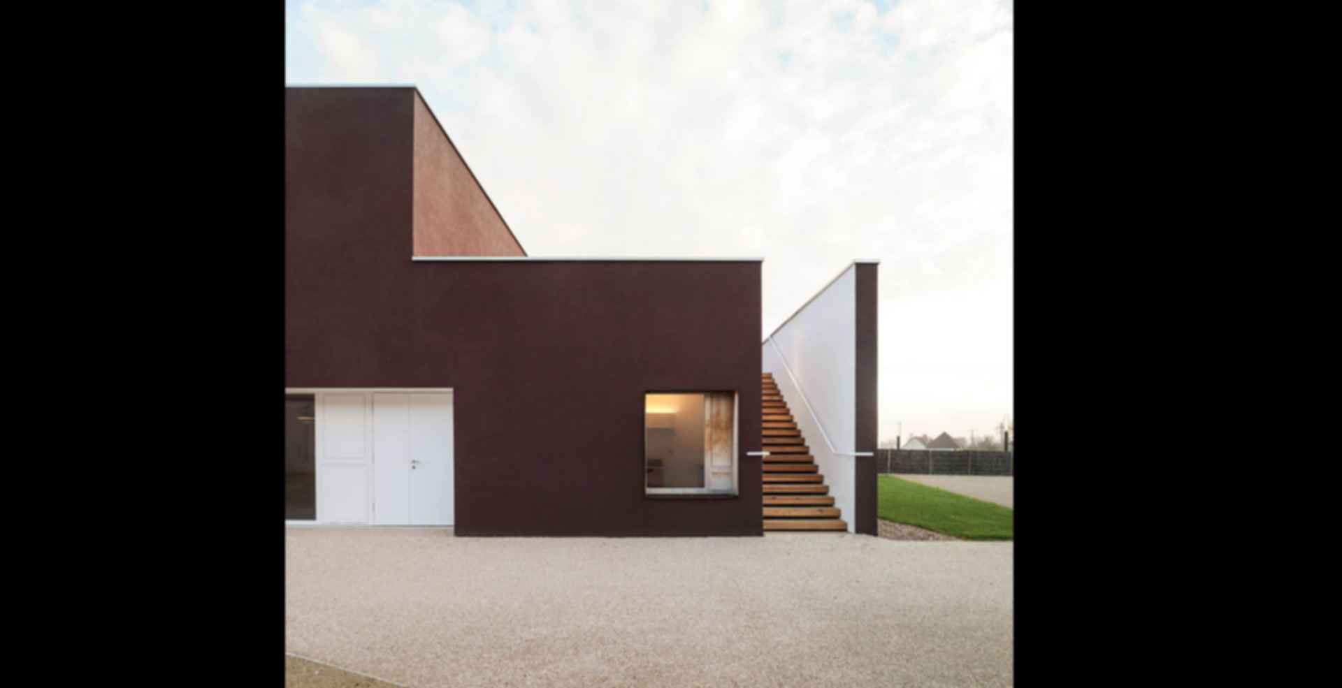 92-Bed Nursing Home - exterior/entrance/stairs