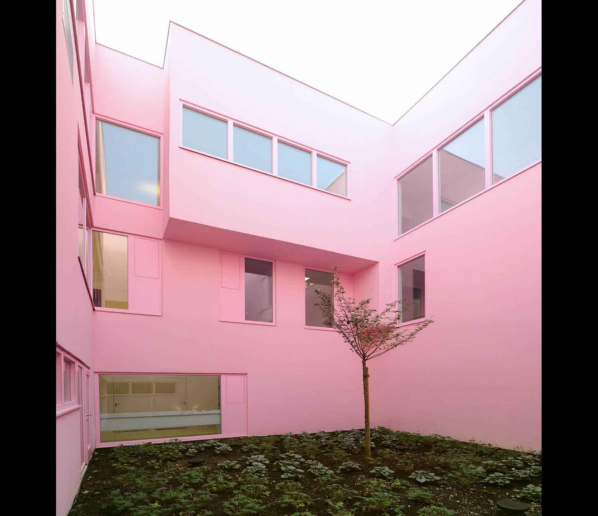 92-Bed Nursing Home - patio