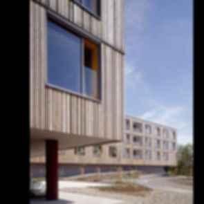 Nursing Home in Esternberg - exterior/windows