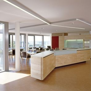 Nursing Home in Esternberg - interior/dining area