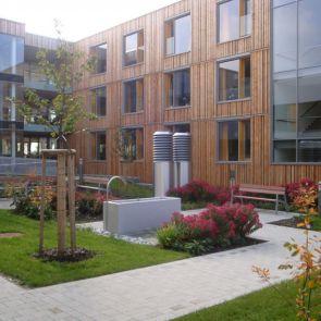 Nursing Home in Esternberg - exterior/patio