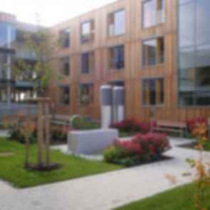 Nursing Home in Esternberg - exterior/patio