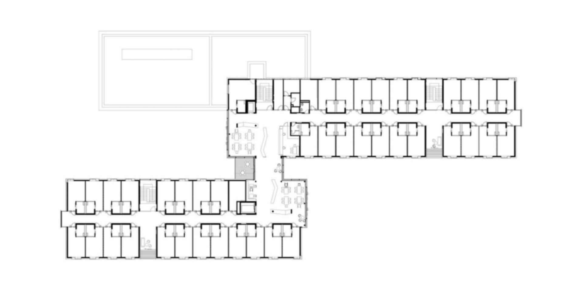 Nursing Home in Esternberg - floor plan