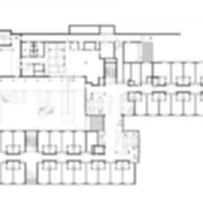 Nursing Home in Esternberg - floor plan
