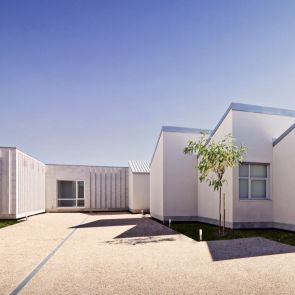 Housing for the Elderly - exterior/patio