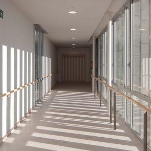 Housing for the Elderly - interior/hallway