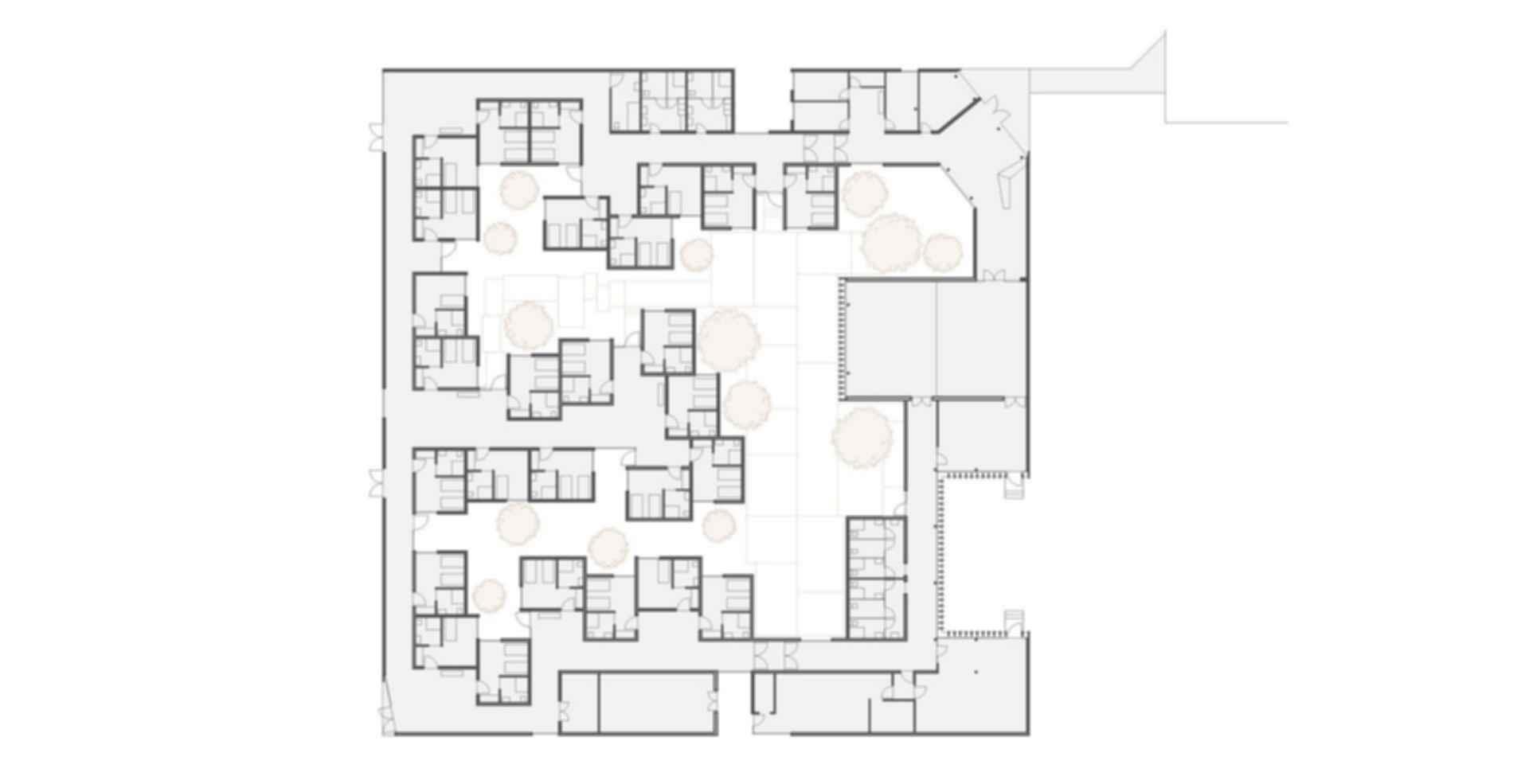 Housing for the Elderly - floor plan