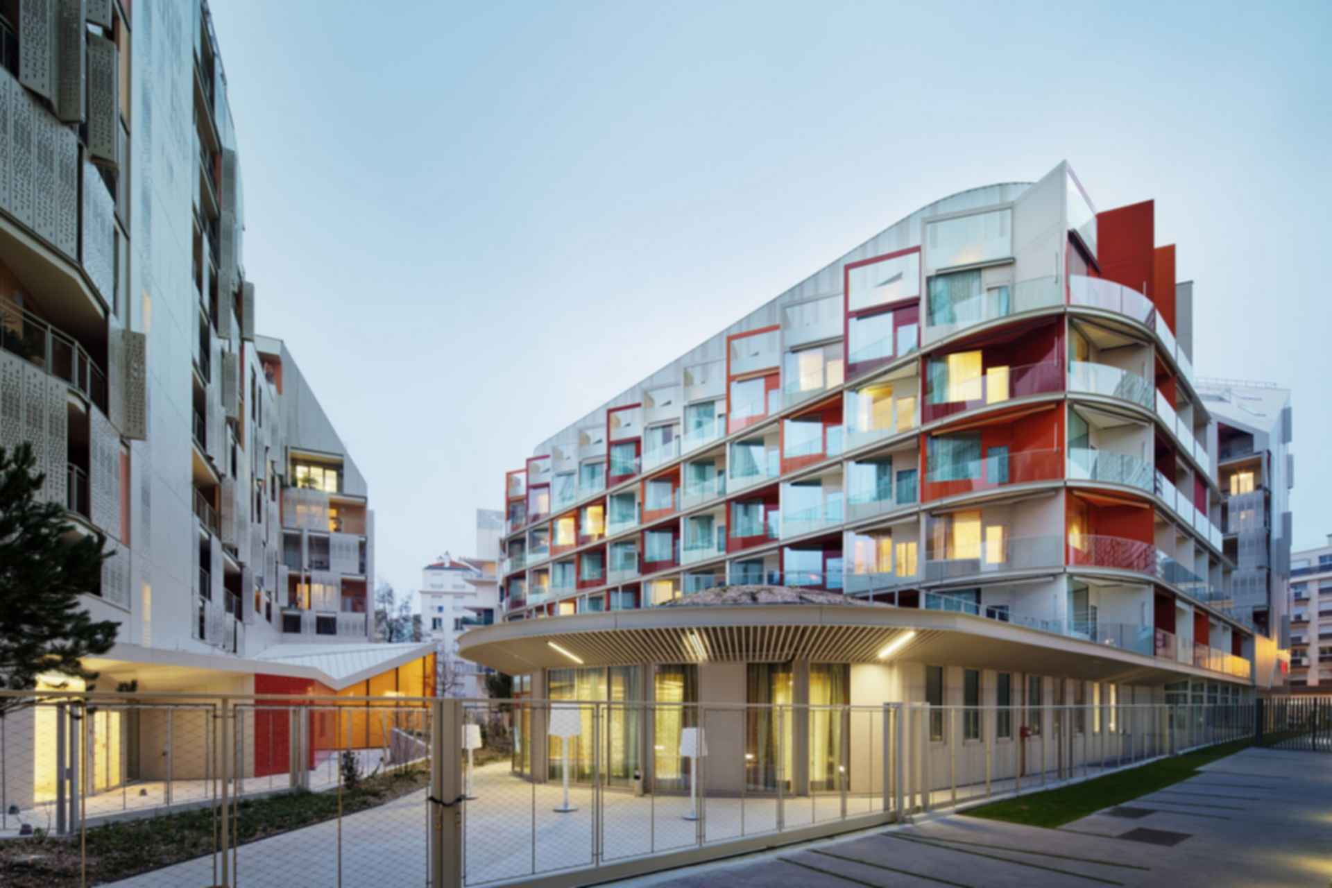 Nursing Home in Batignolles - exterior/street view