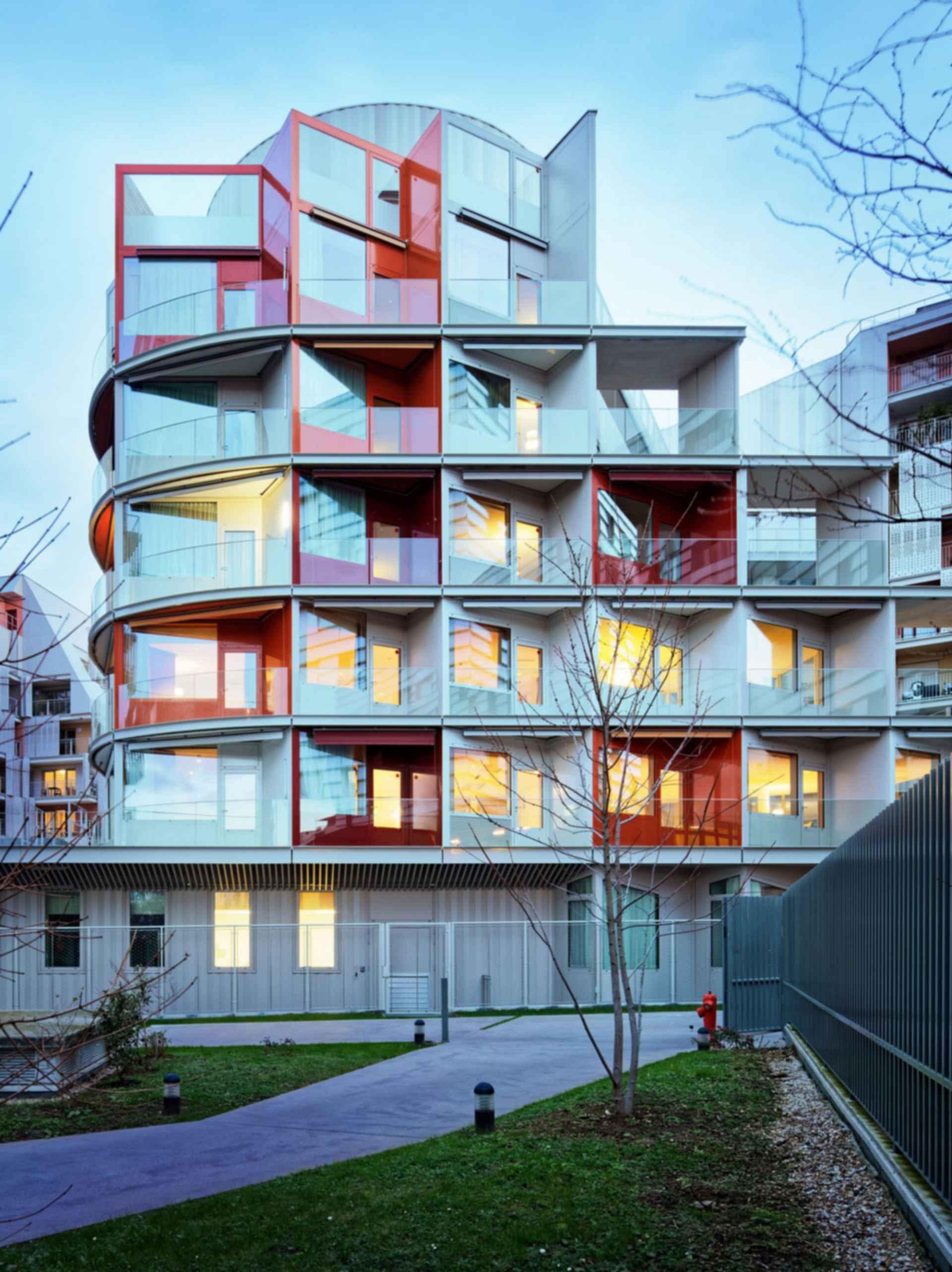 Nursing Home in Batignolles - exterior