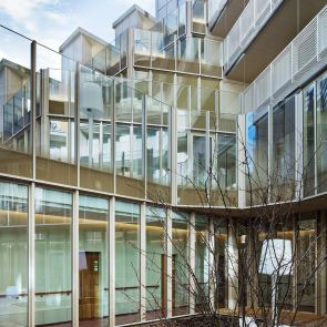 Nursing Home in Batignolles - exterior/patio
