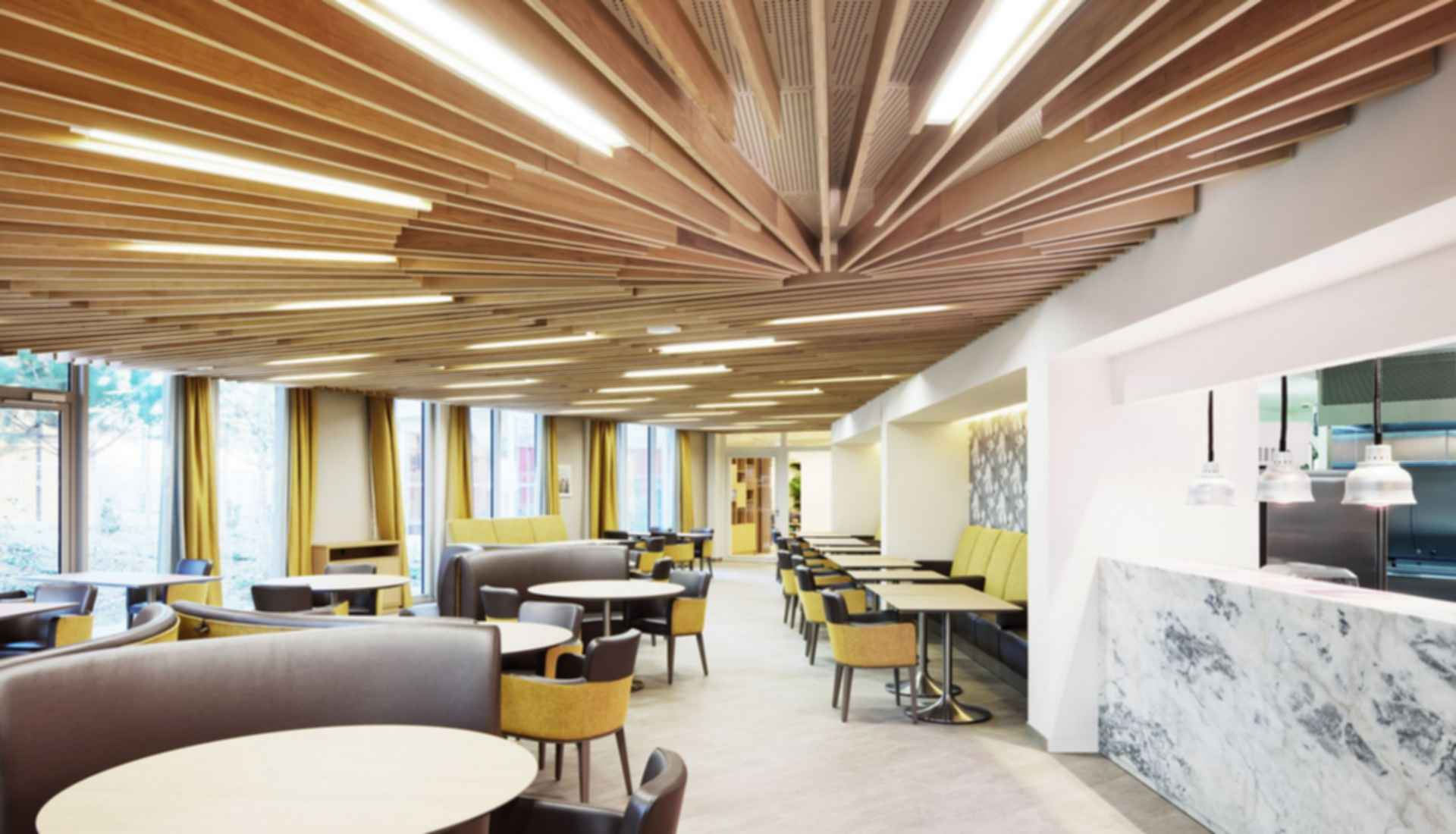 Nursing Home in Batignolles - Dining Area