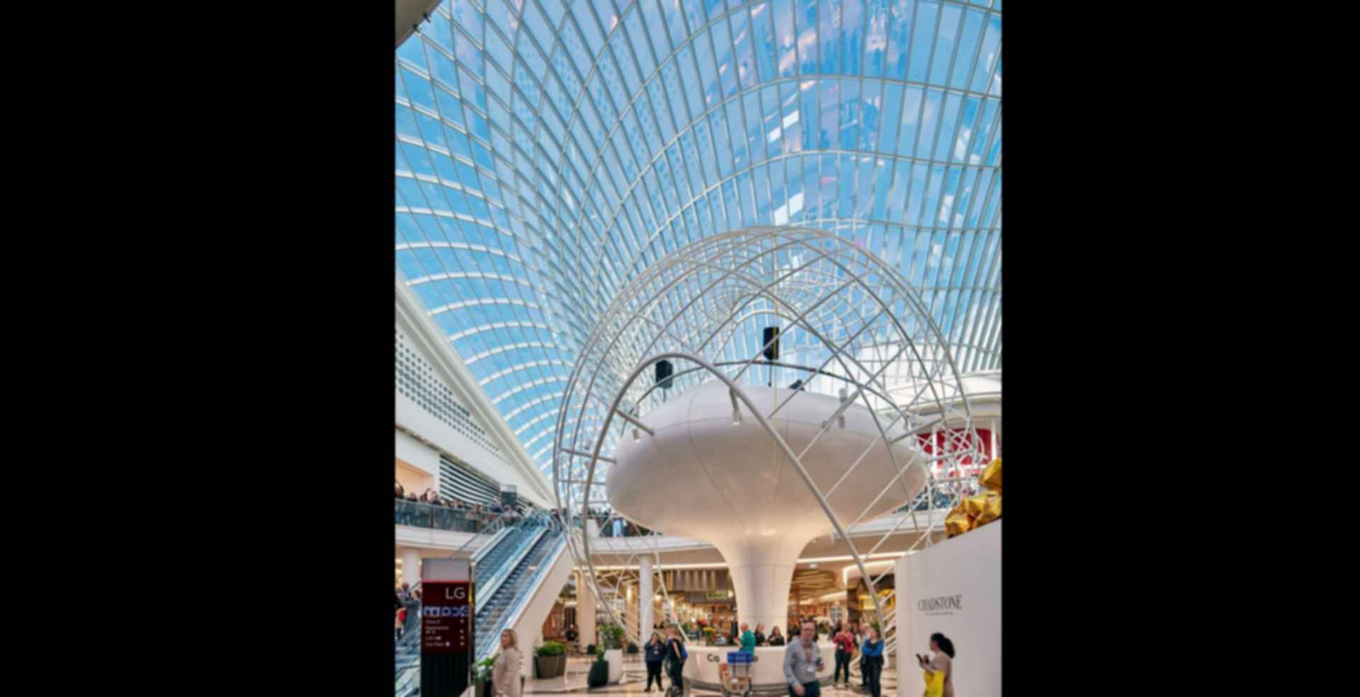 Chadstone Shopping Center - interior/sculpture