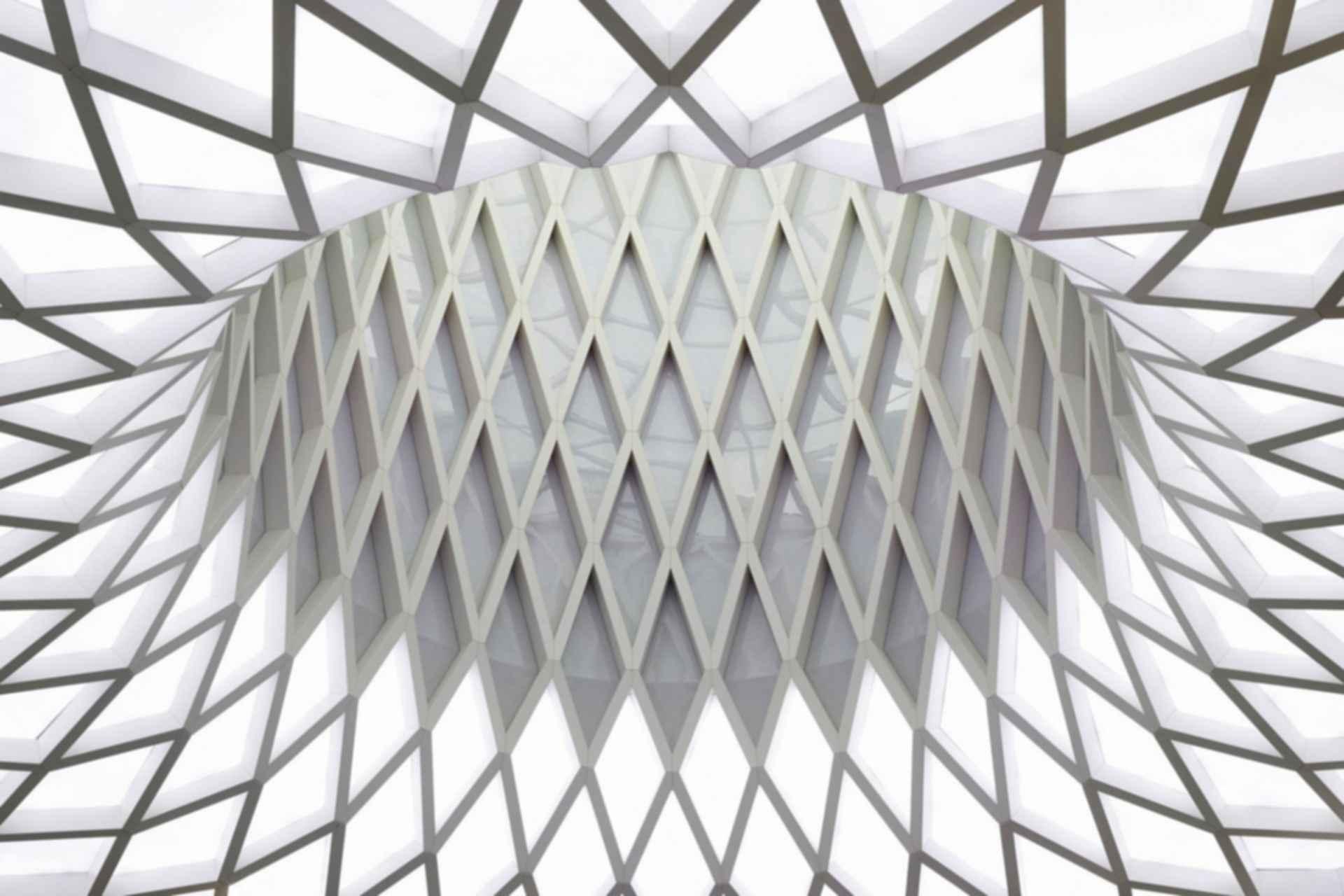 Victoria Gate - interior/roof