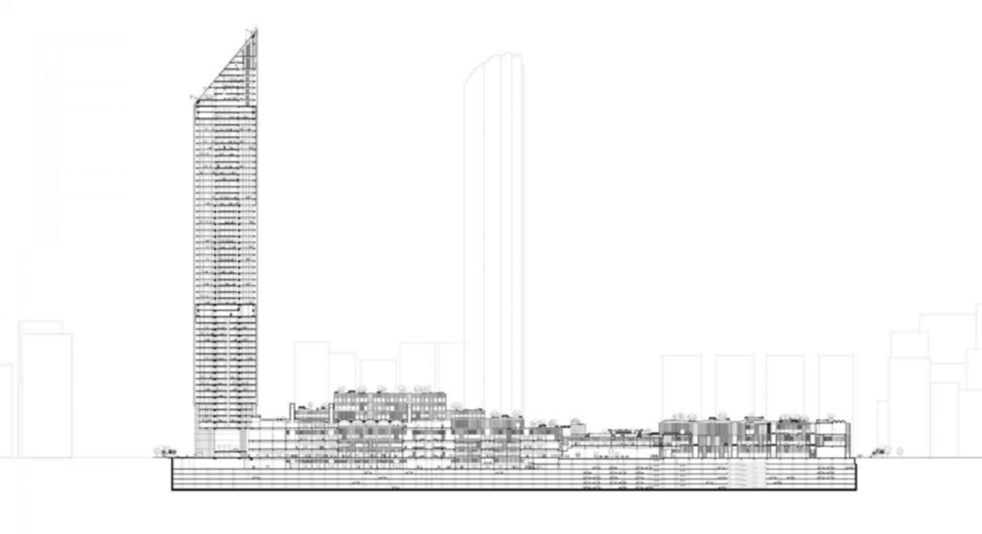 World Trade Center Souk and Mall - floor plan