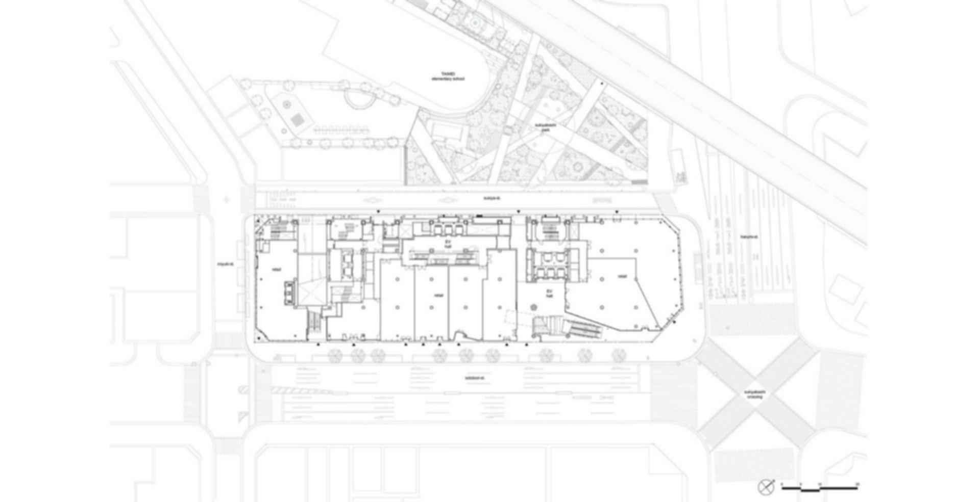 Tokyu Plaza Ginza - floor plan