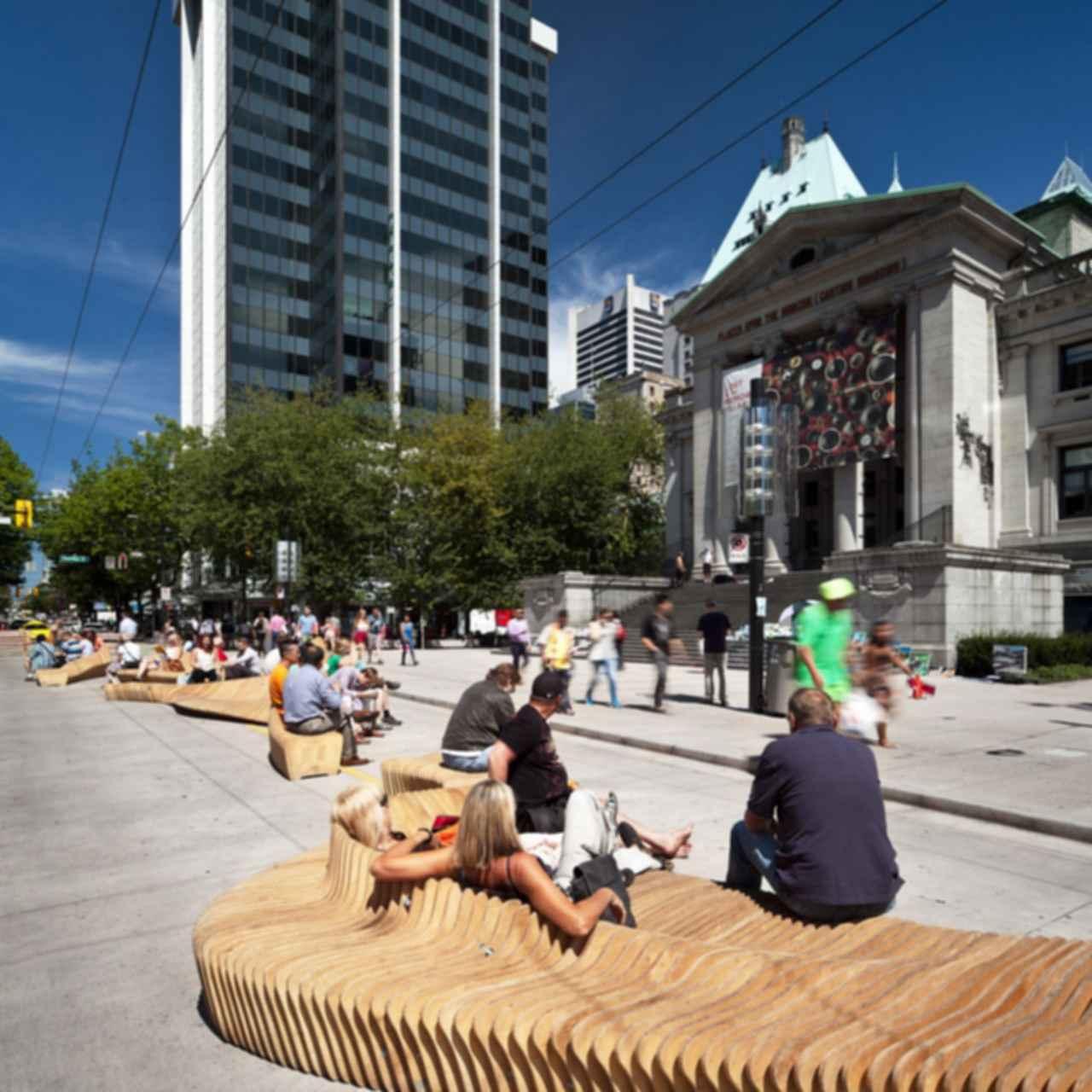 Urban View: Urban Seating