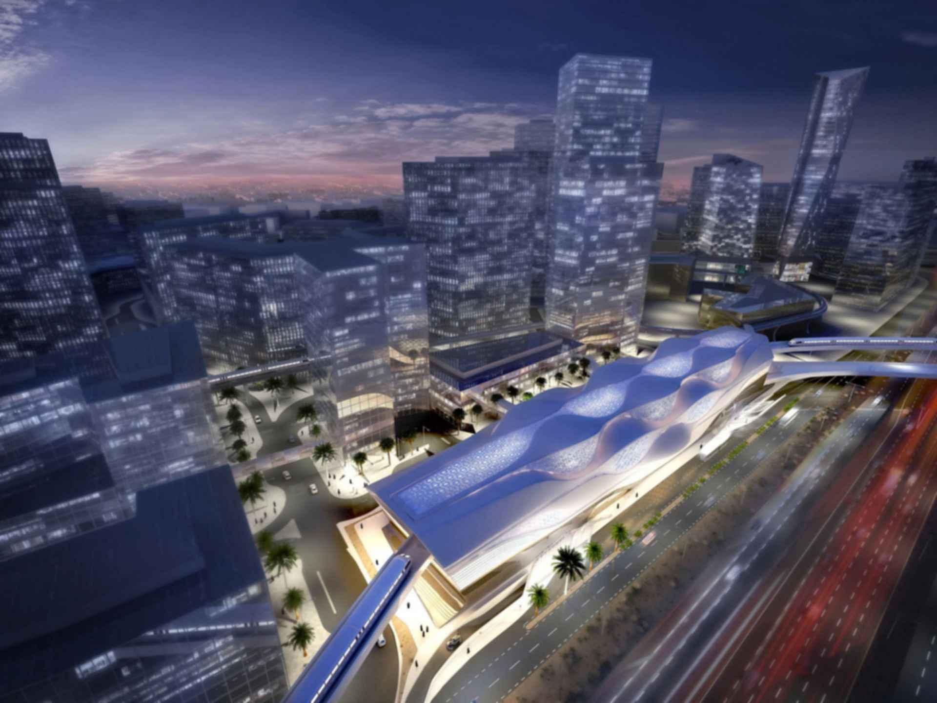 King Abdullah Financial District (KAFD) Metro Station - concept design