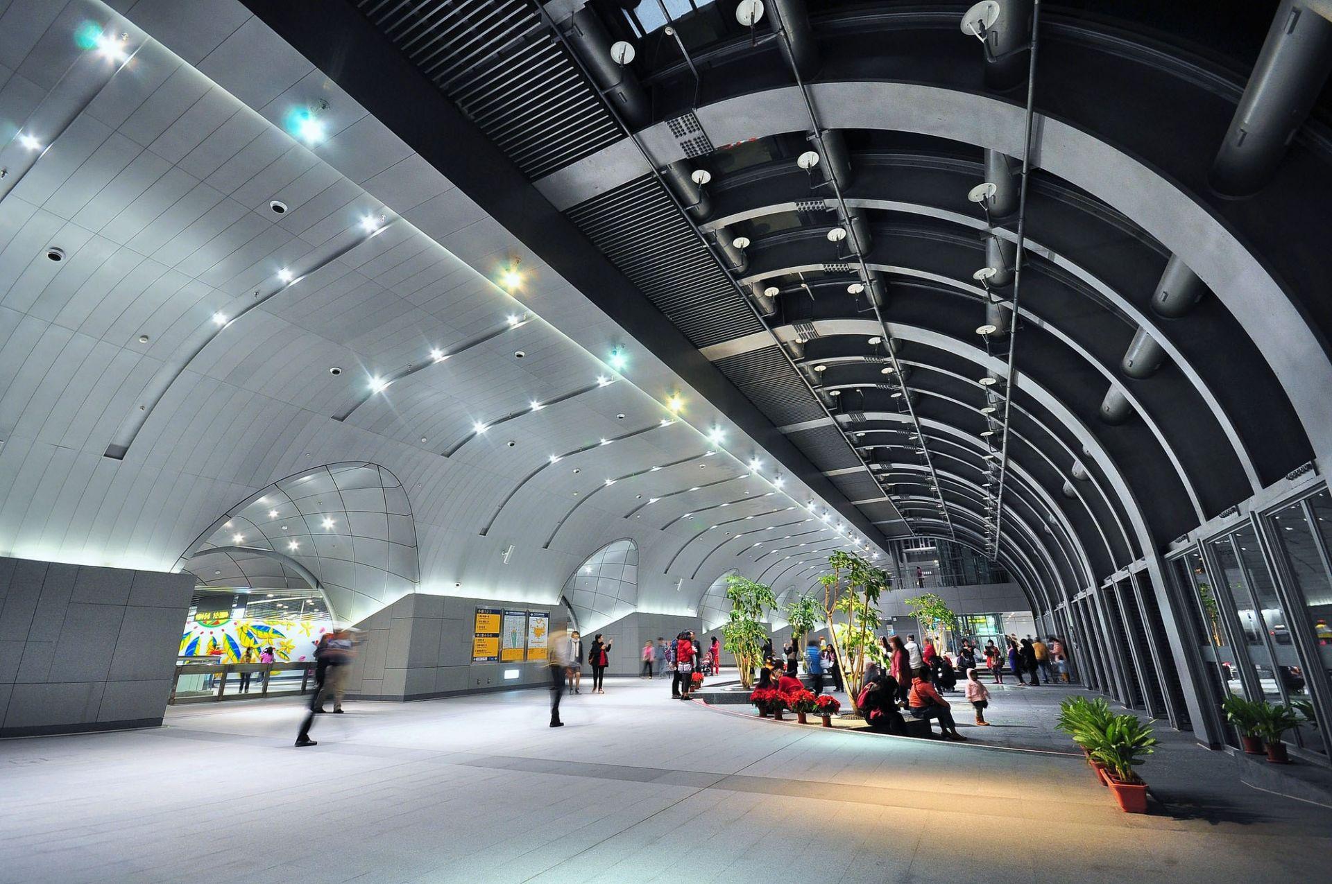 Taipei MRT Daan Park Station - interior - modlar com