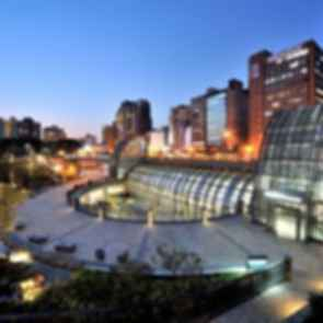 Taipei MRT Daan Park Station - exterior