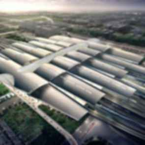 Guangzhou South Railway Station - concept design