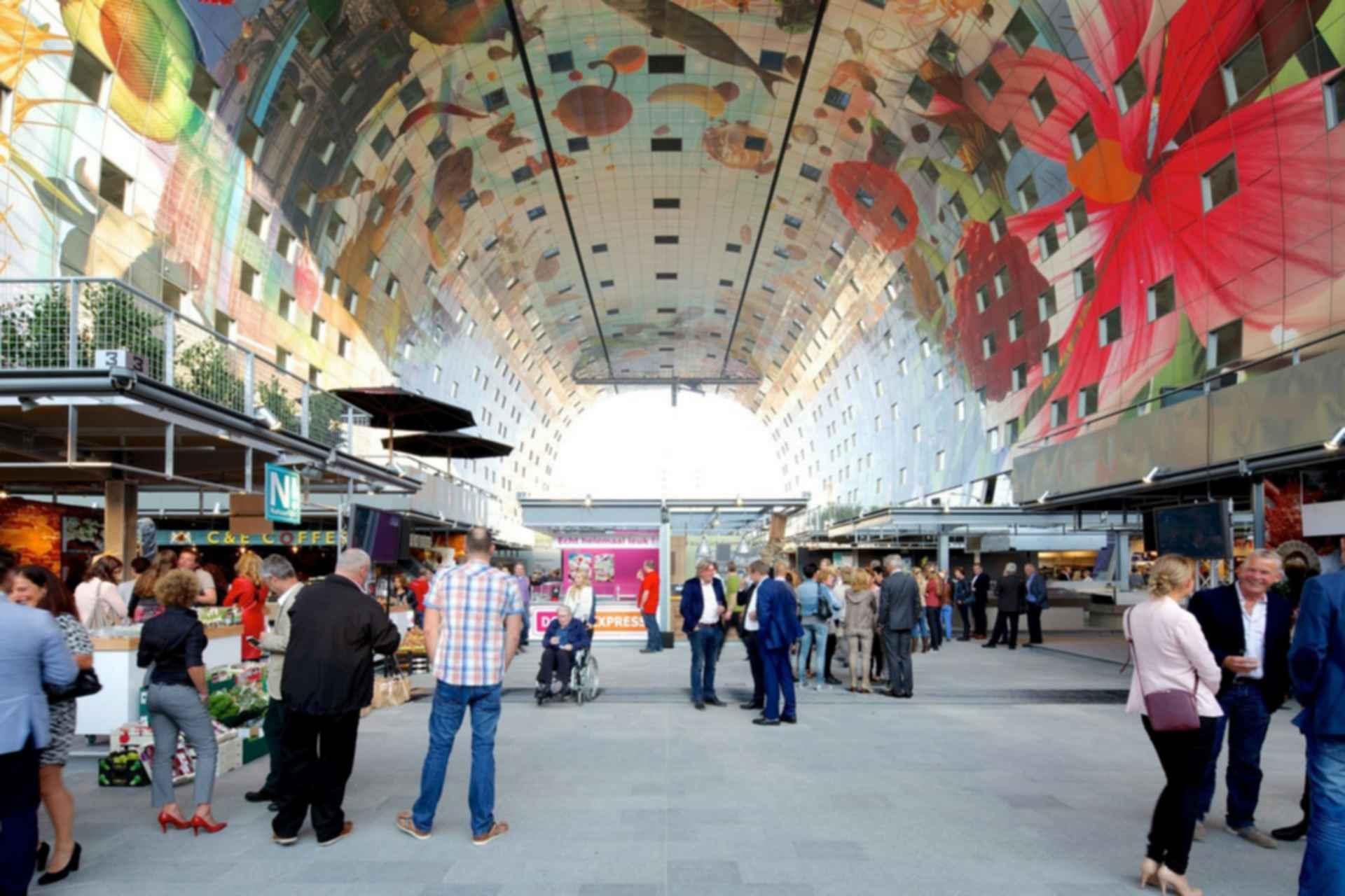 Markthal - interior market