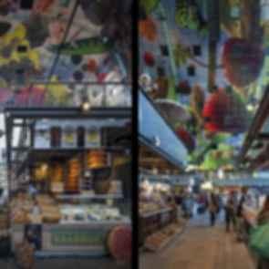 Markthal - interior food market