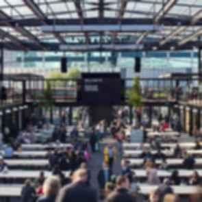 Boxpark Croydon - dining space
