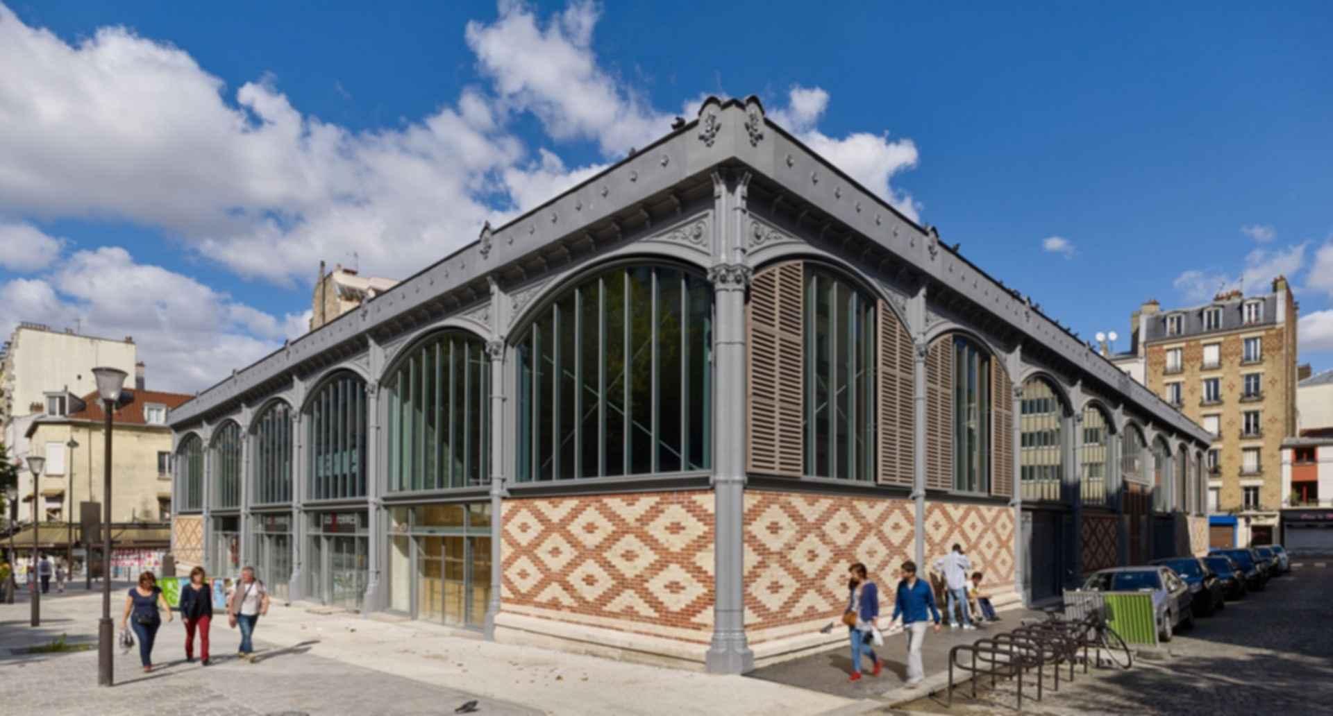 Secretan Covered Market - facade