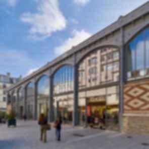Secretan Covered Market - exterior front