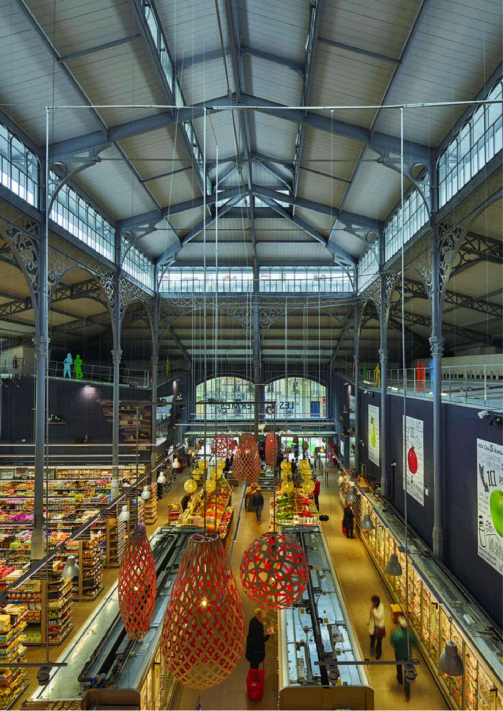 Secretan Covered Market - interior
