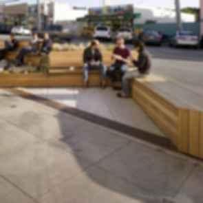 Noriega Street Parklet