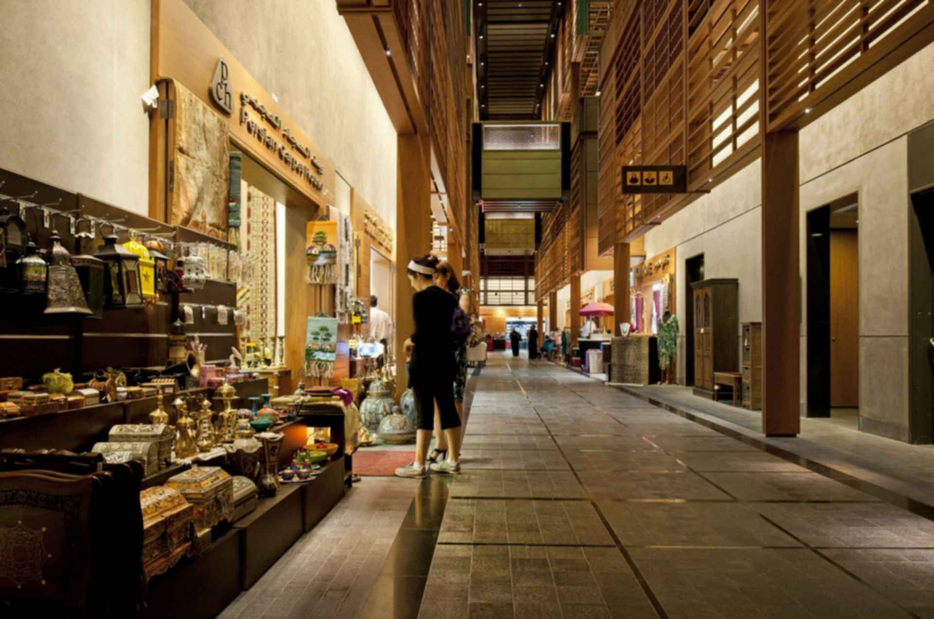 Abu Dhabi Central Market - interior