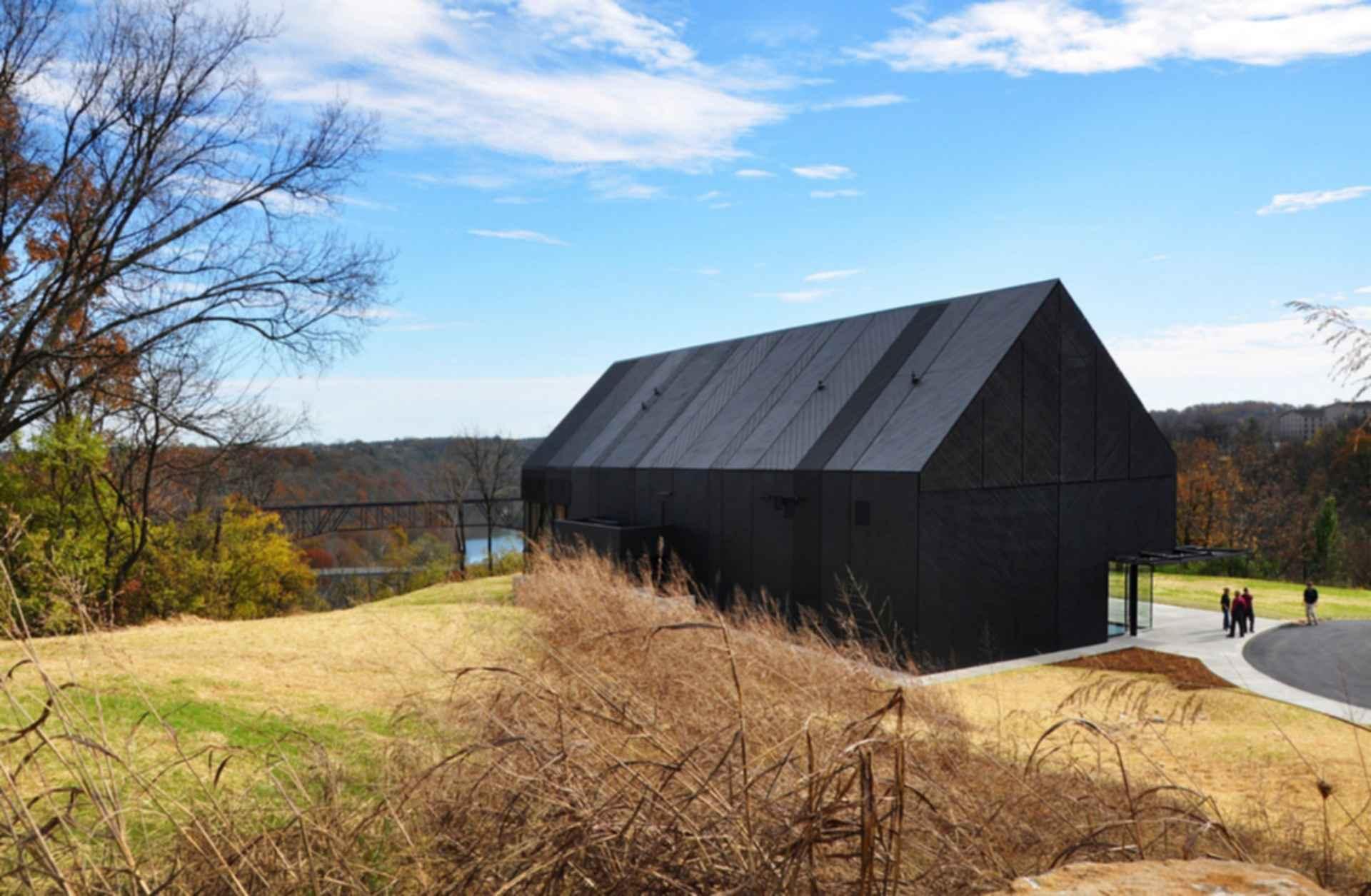 Wild Turkey Bourbon Visitor's Center - exterior
