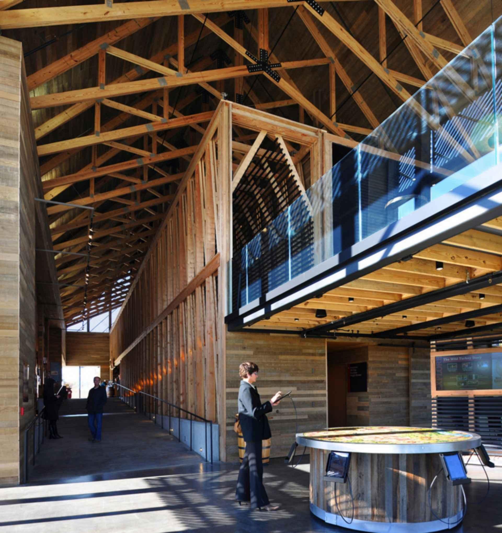 Wild Turkey Bourbon Visitor's Center - interior