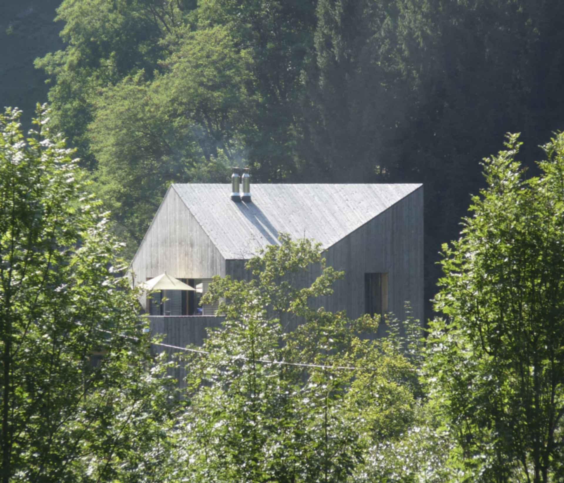 Stoaninger Muhlviertel Distillery - exterior roof
