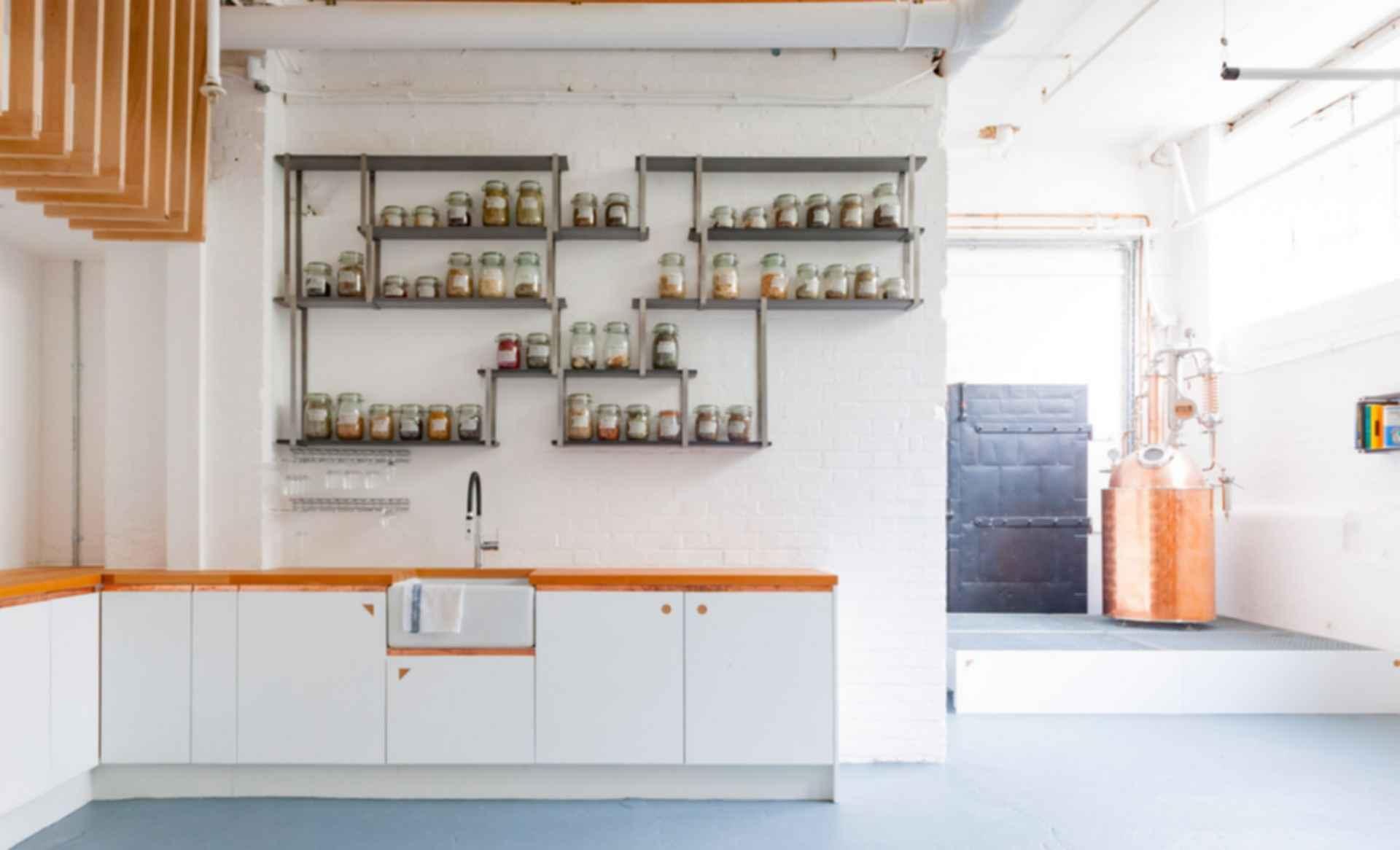 Sweetdram Workshop - interior kitchen