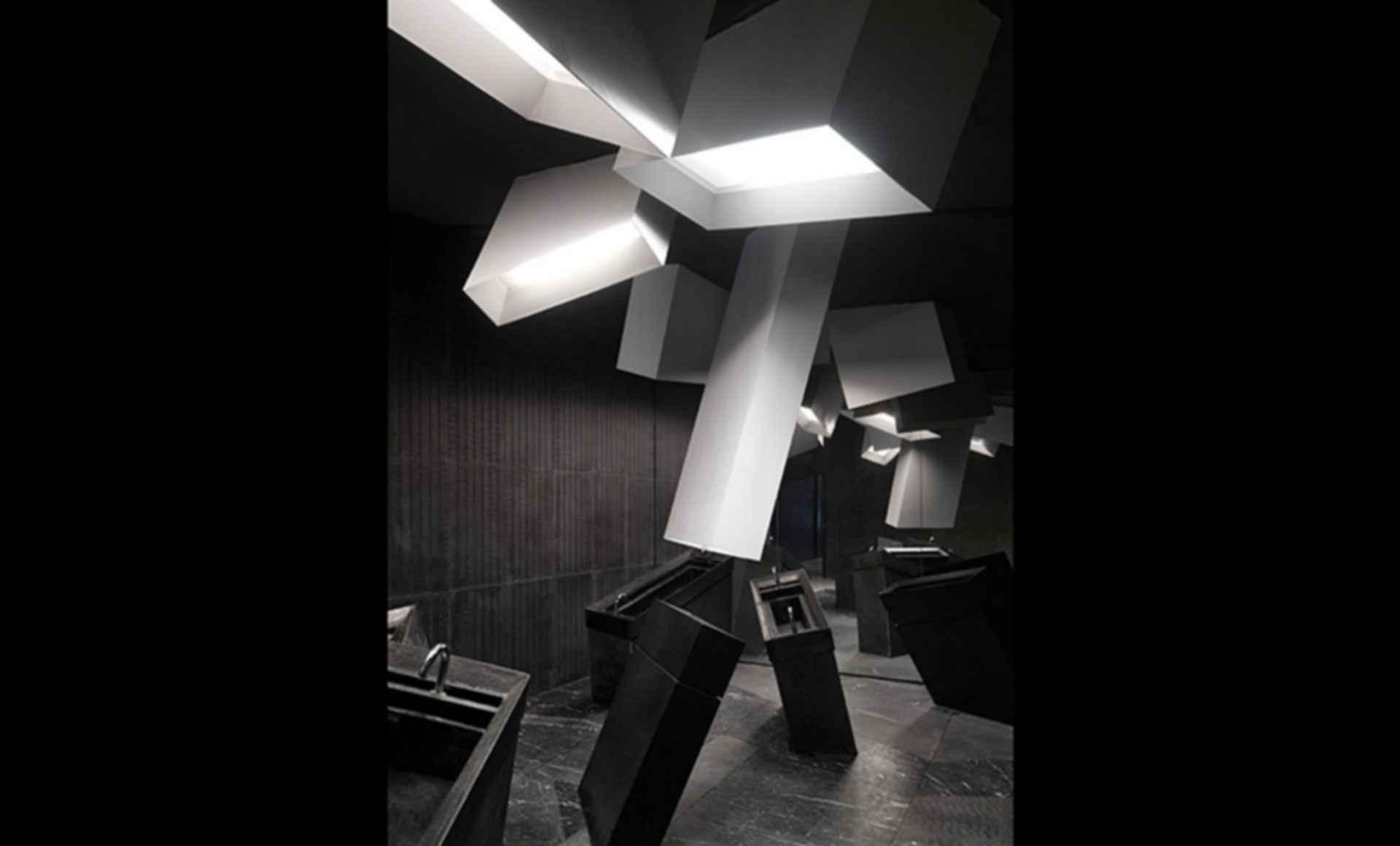 Exploded Cinema - bathroom